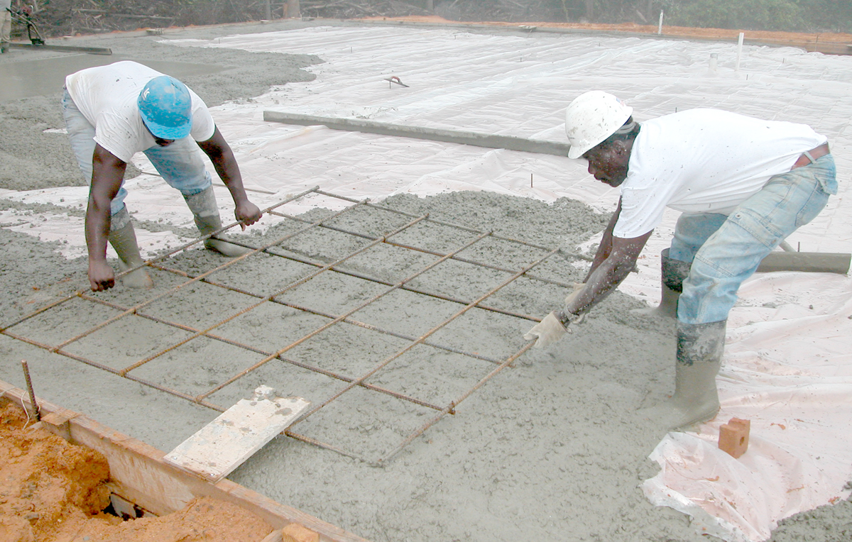 Identify the need to buy new building materials