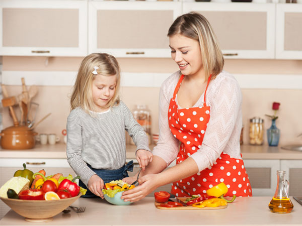 Why are cooking lessons important in nursery schools
